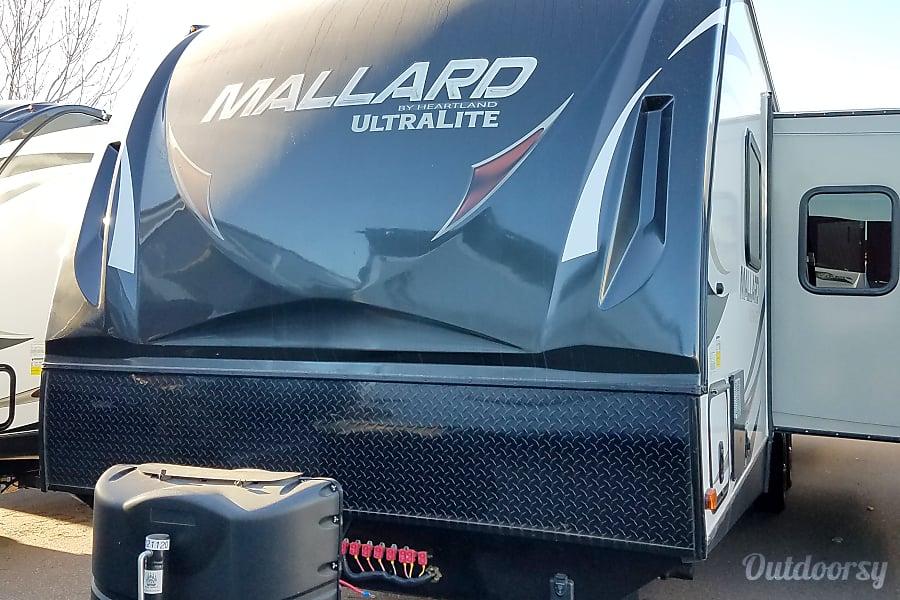 exterior 2017 M33 Mallard Ultralite by Heartland Penrose, Colorado