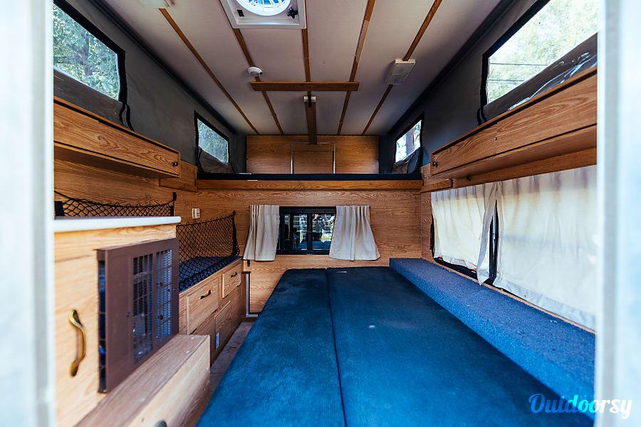 interior 2008 Toyota Tundra with '06 Four Wheel Camper Hawk (aka Tony Hawk) Salt Lake City, Utah