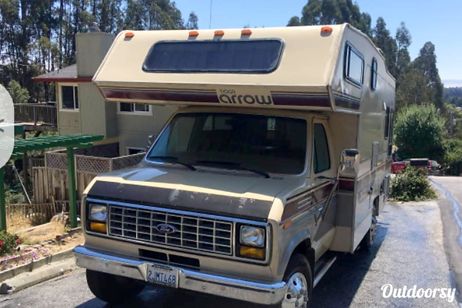 1988 Ford Tioga Arrow Boulder Creek, CA