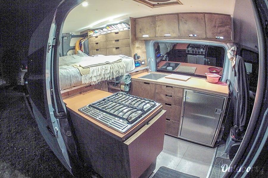 Luxury Sprinter w/ Expansive Gear Garage Calgary, Alberta