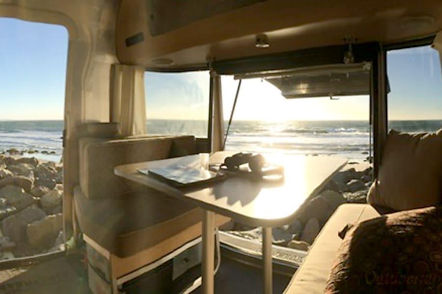 interior 2012 Airstream Eddie Bauer Altadena, CA