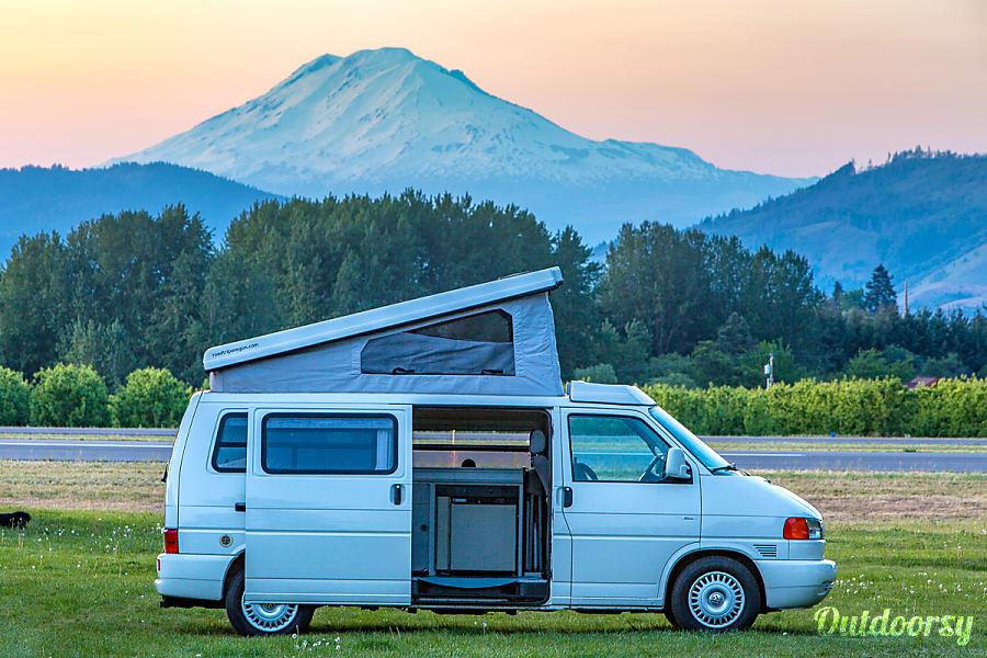 exterior Eurovan camper 2 Portland, OR