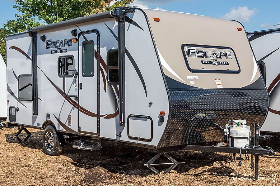 exterior 2018 KZ Escape 191BH, bunkhouse, queen bed, electric awning and slide out Arvada, CO