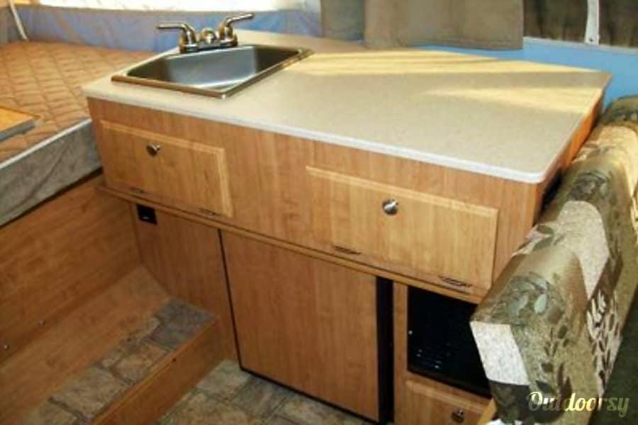 Forest River Flagstaff Golden, CO Kitchen