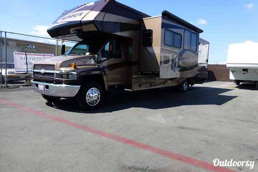 exterior 36' Jayco Seneca Diesel w/Two Slides + Bunk Beds (43) San Marcos, CA