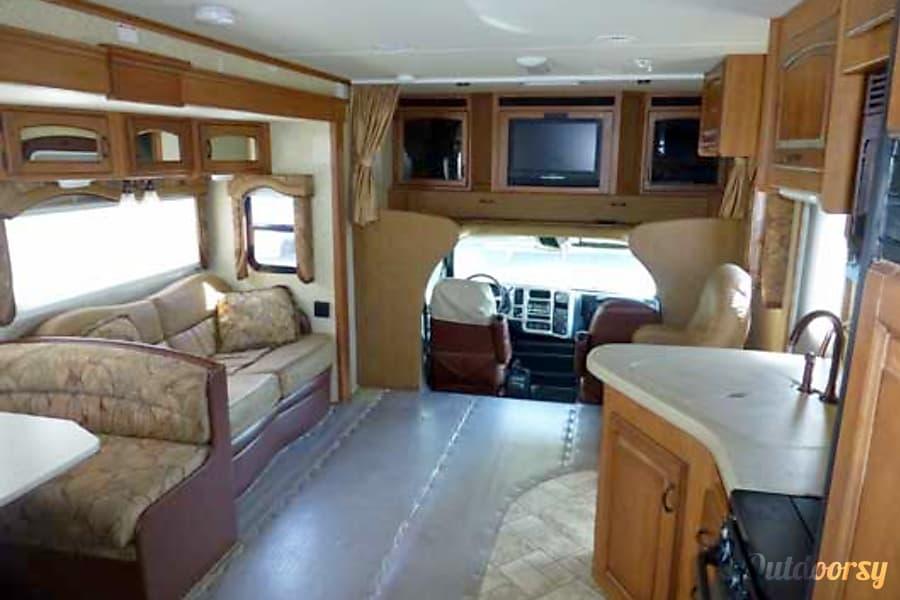 36' Jayco Seneca Diesel w/Two Slides + Bunk Beds (43) San Marcos, CA Living Area