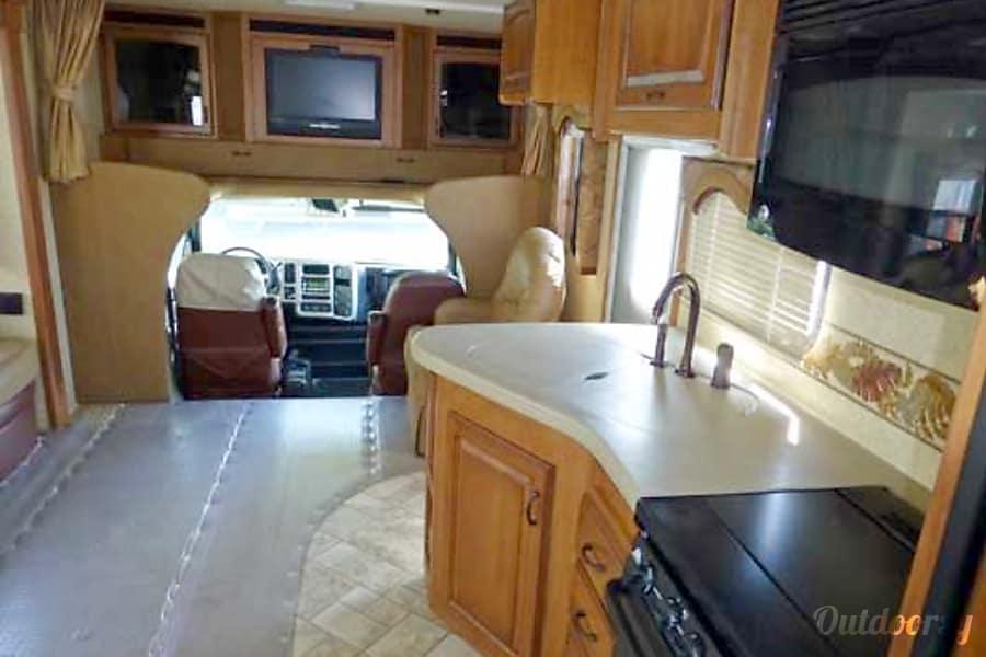 36' Jayco Seneca Diesel w/Two Slides + Bunk Beds (43) San Marcos, CA Stove & Microwave
