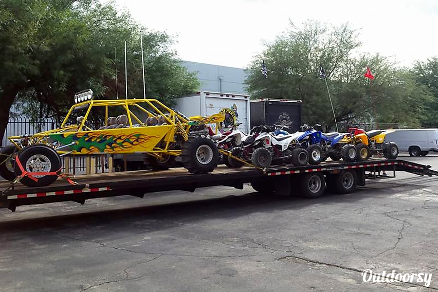 2015 Gator 45FT Equiptment hauler Las Vegas, Nevada Time to Play LETS GOO