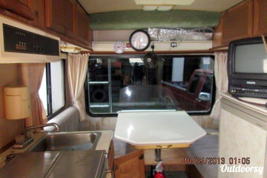 interior The Baby: a tiny house on wheels Oakland, CA