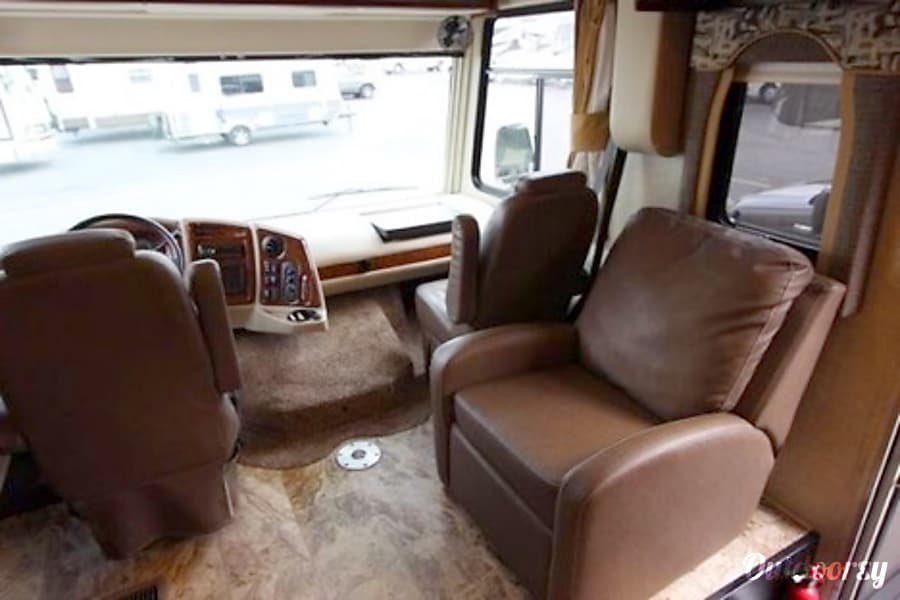 2017 Coachmen Mirada Ocoee, FL Recliner once you are setup with slides extended