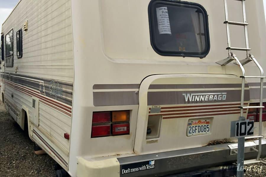 WA 1987 Winnebago Chieftain Riverside, CA