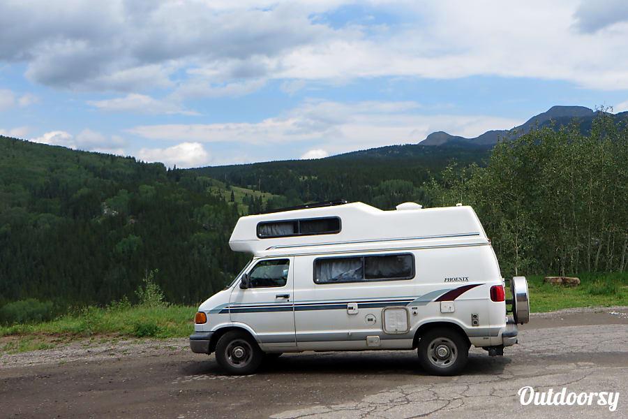 exterior 2000 Dodge Phoenix Camper Van Rancho Palos Verdes, CA