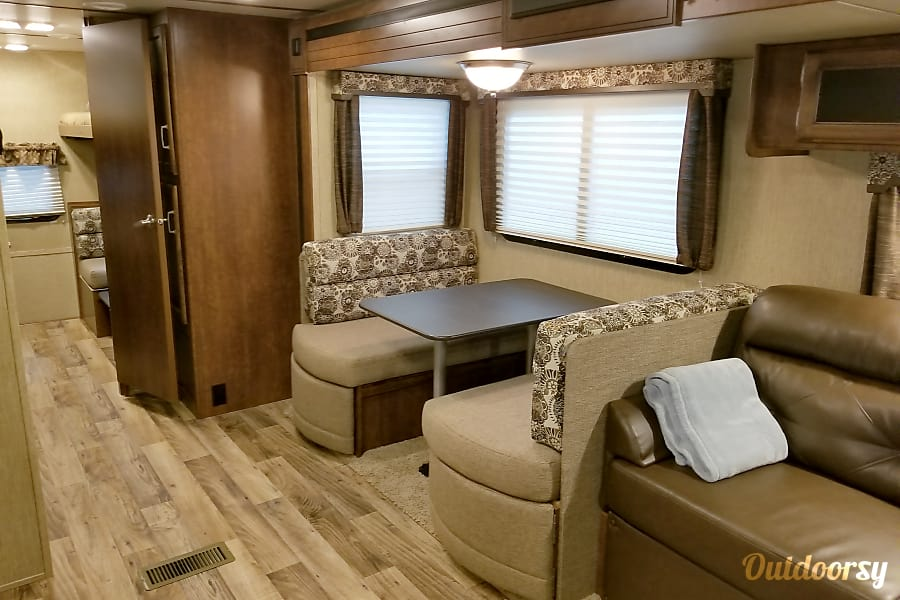 2018 Keystone Outback Port St Lucie, FL Slideout Living Space.