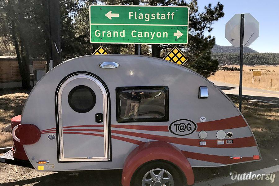exterior Tucson AZ Toy Camper, Little Red Wagon Tucson, Arizona