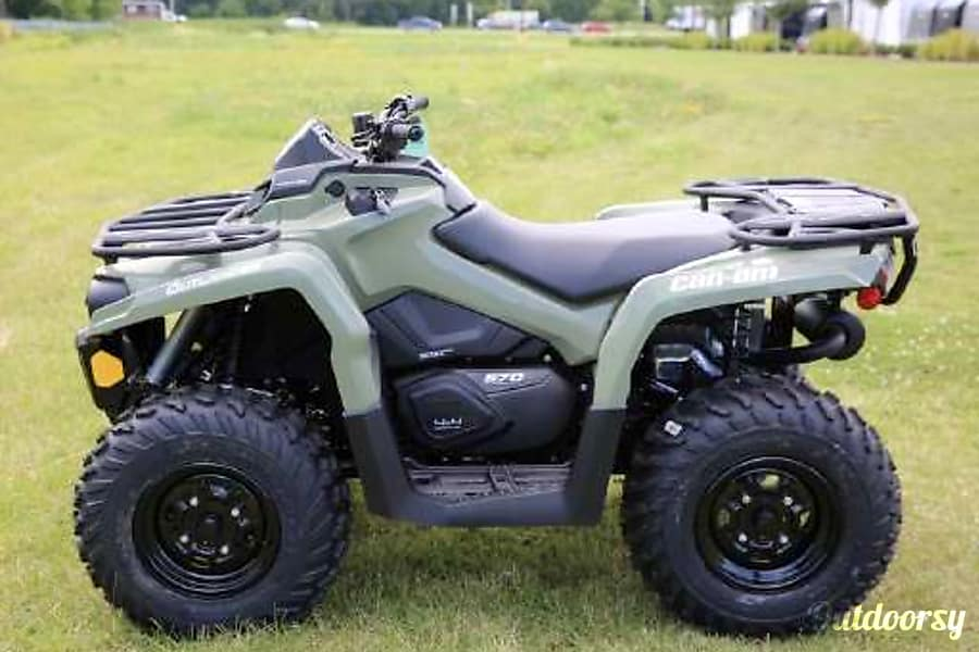2017 Can-Am Outlander 450 #1 Sugar Land, TX 450