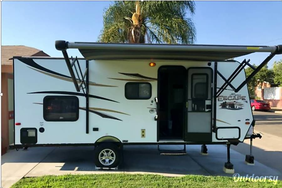 2015 K-Z  Spree Escape-DRY CAMP, Super Light weight, EASY to TOW -Beach/Coastal Rentals Only Carlsbad, CA
