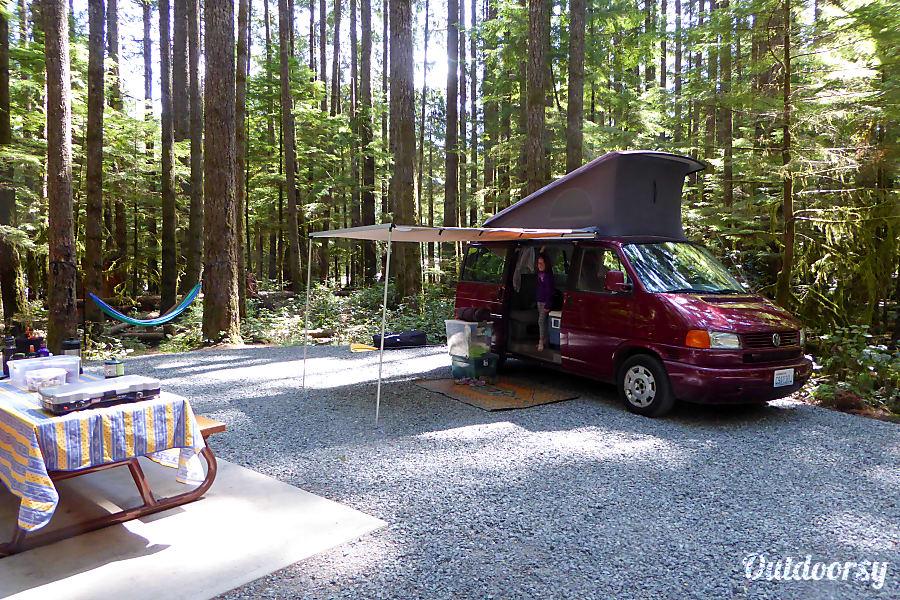 Peace Vans #7: Dosewallips - Eurovan Weekender Edition Seattle, WA