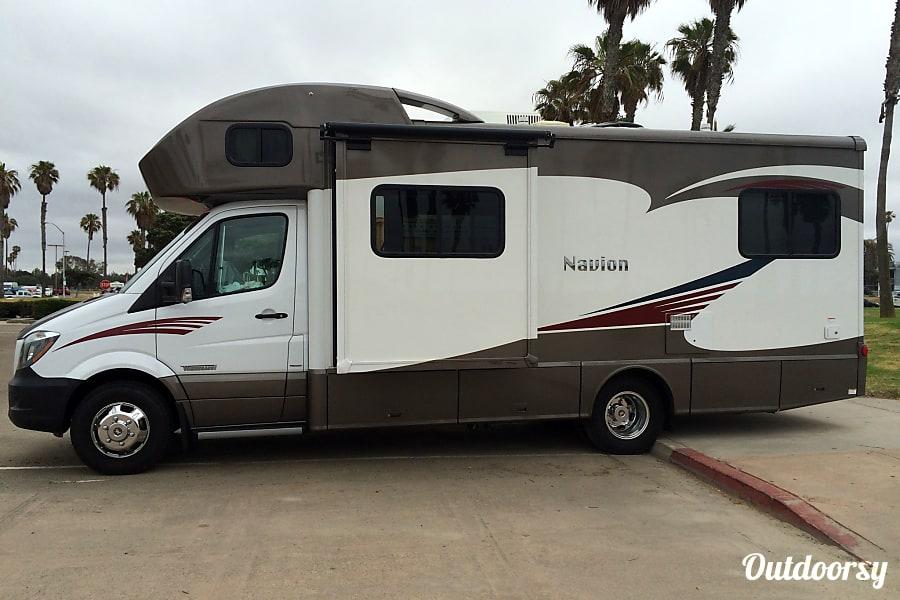2015 Mercedes  Itasca Navion San Jose, CA
