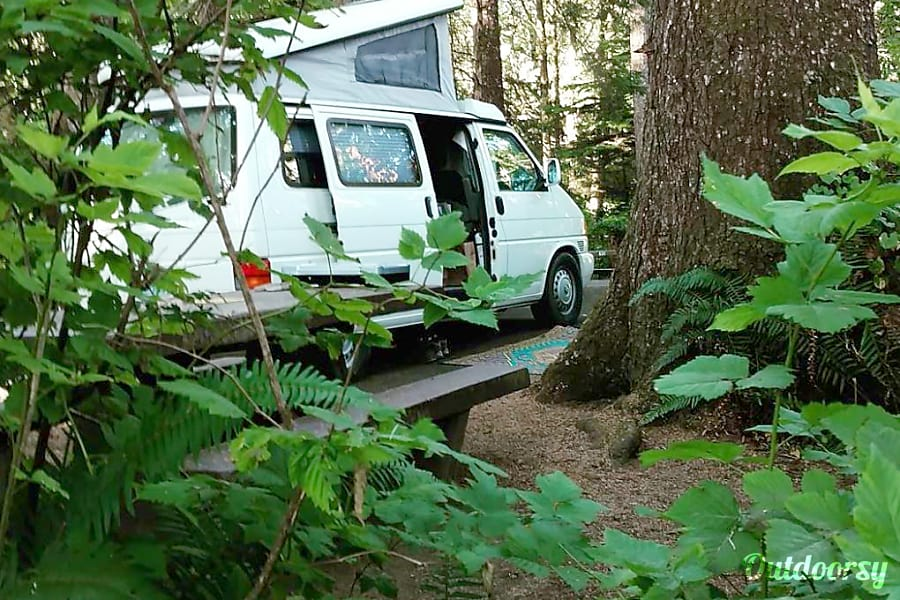 Peace Vans #13  - Washougal: Eurovan Full Camper Seattle, WA