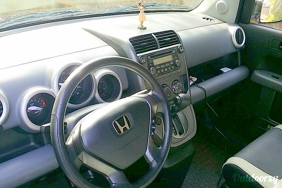 interior Lulu1 - Black Honda Element with eCamper Kahului, HI