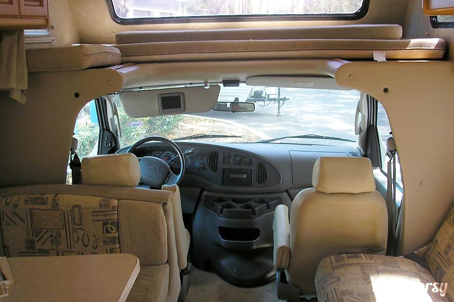 interior 2015 Thor Motor Coach Four Winds Jacksonville, FL