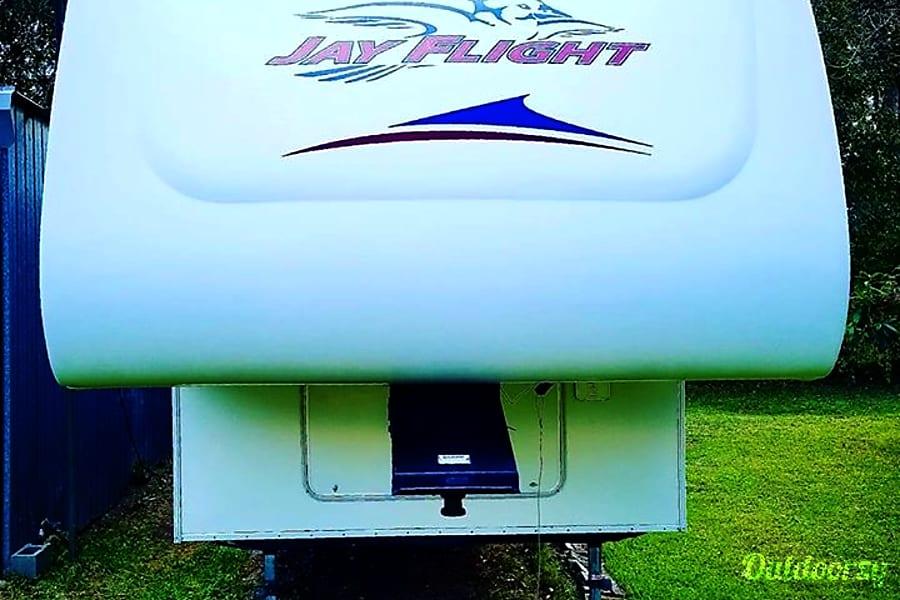 exterior 2007 Jayco Jay Flight Angleton, Texas