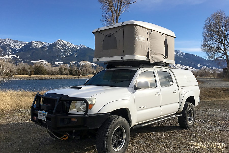Toyota Tacoma with Roof Top Tent Livingston, MT