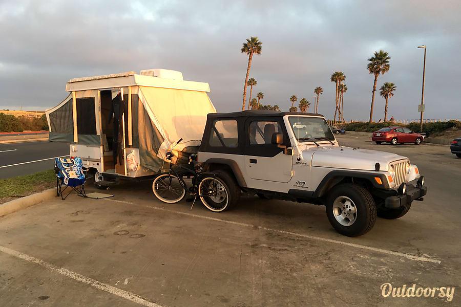 exterior 2001 Jayco Qwest Aptos, CA