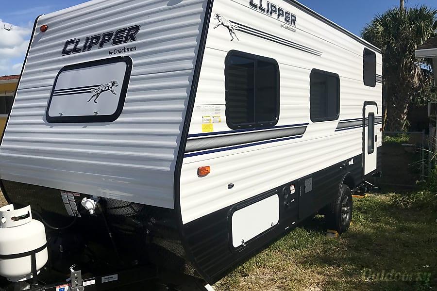 2018 Coachmen Clipper Trailer Rental In Satellite Beach