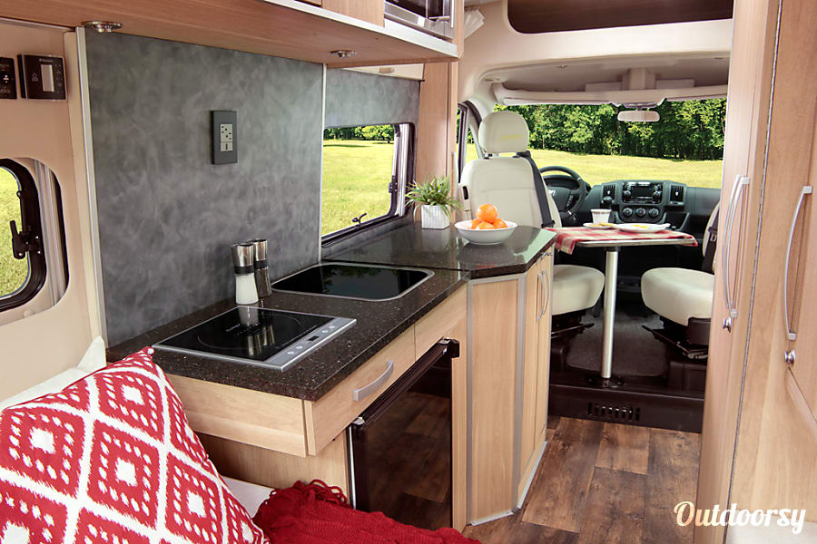 2017 Hymer Sonne Phoenix, Arizona Offering all the conveniences you need such as a full kitchen galley with extra counter space, separate bathroom and shower areas (largest in Class B Motorhomes), permanent rear double bed, and all the heating and cooling features to keep you comfortable.
