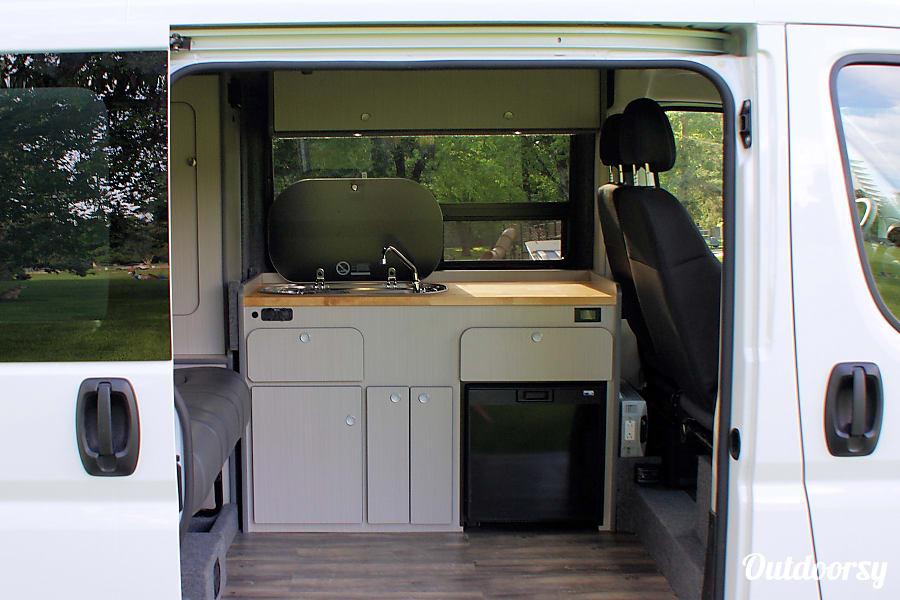 2017 Doge Promaster Motor Home Camper Van Rental In Las