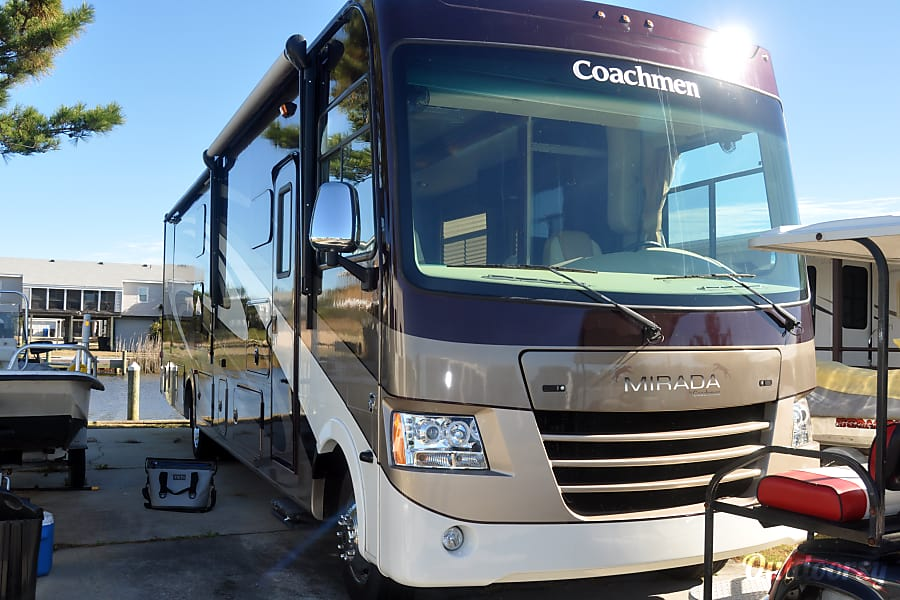 2016 Coachmen Mirada Virginia Beach, VA Front with slides in