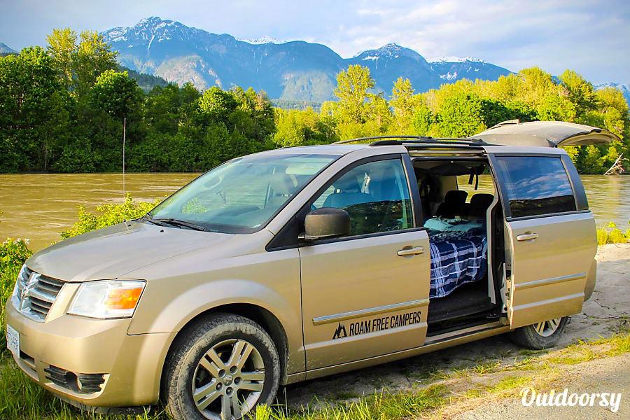 2009 Dodge Grand Caravan Motor Home Camper Van Rental In