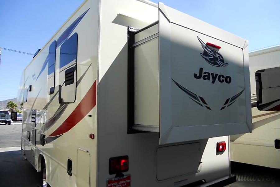 exterior 2017 Jayco Redhawk 23XM Lancaster, CA