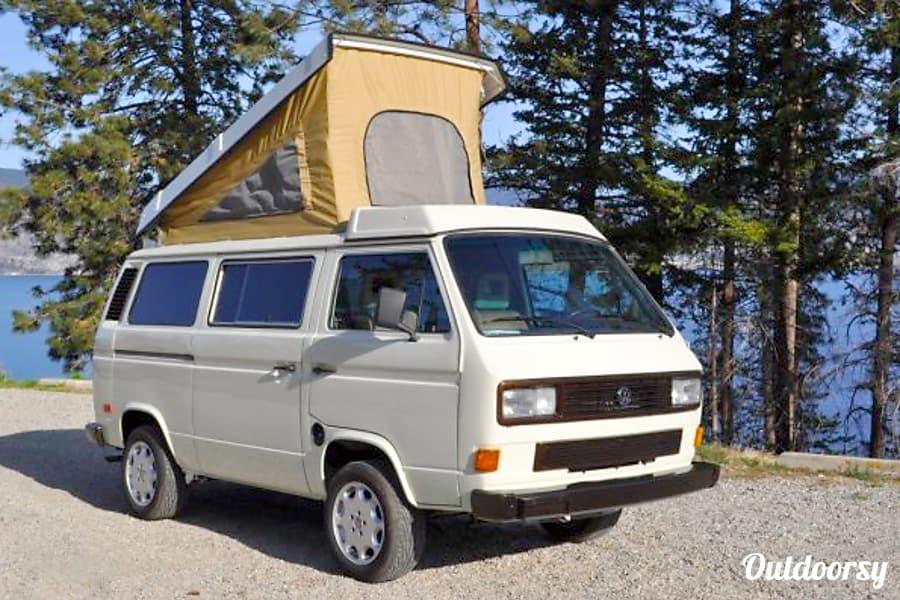 1986 Volkswagen Westfalia Motor Home Camper Van Rental In