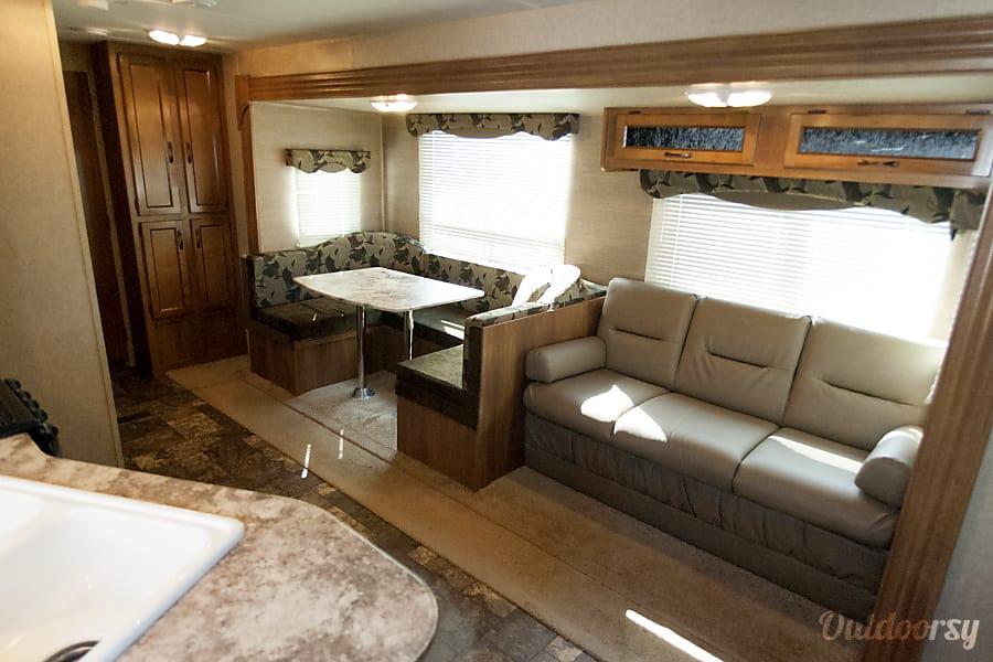"""interior 2014 Coachmen Catalina, """"Family Retreat"""" Lafayette, IN"""