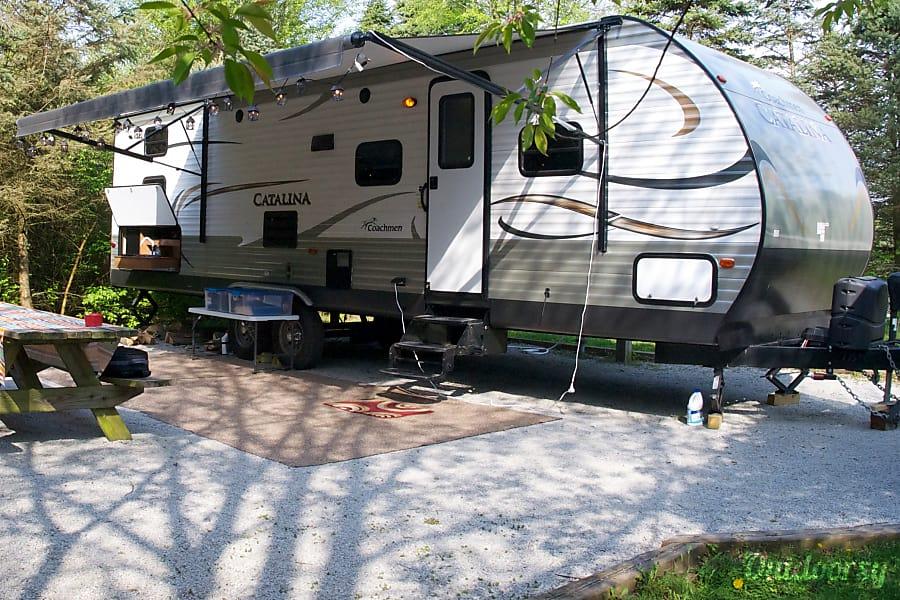 "exterior 2014 Coachmen Catalina, ""Family Retreat"" Lafayette, IN"