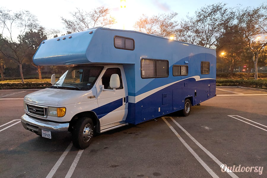 exterior Big Blue!!!!! Tustin, CA