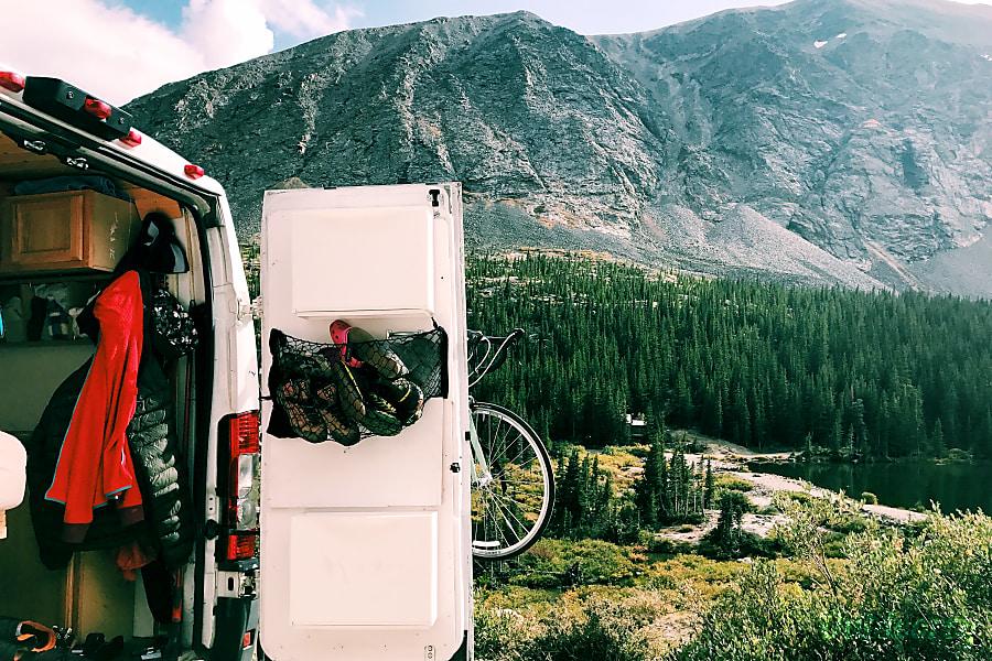 exterior Custom Solar Powered Camper Van (2014 Ram Promaster 1500) Charlottesville, VA