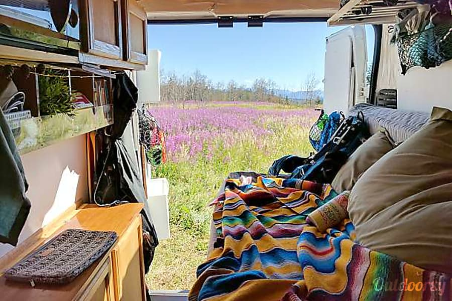 2014 Ram Promaster 1500 Motor Home Camper Van Rental In