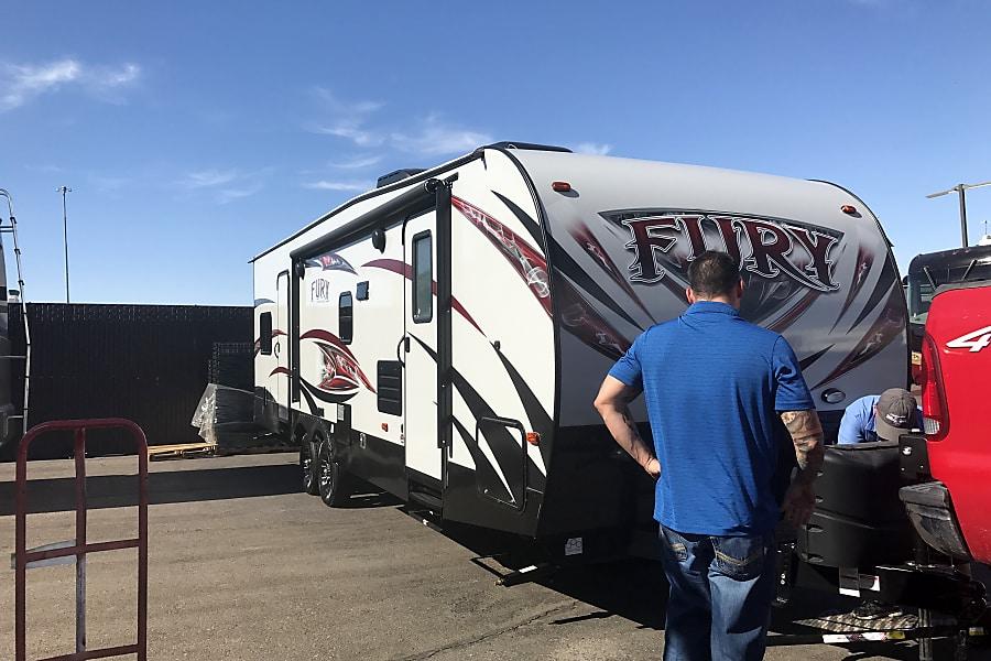 exterior 2017 Prime Time Fury Buckeye, AZ