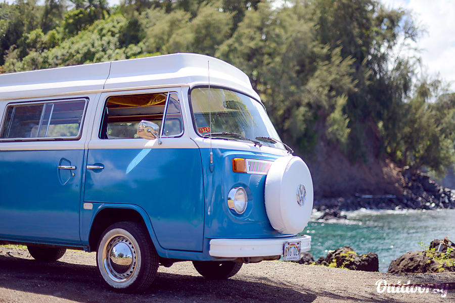 Vw Camper Van >> 1975 Volkswagen Other Motor Home Camper Van Rental In Kihei Hi