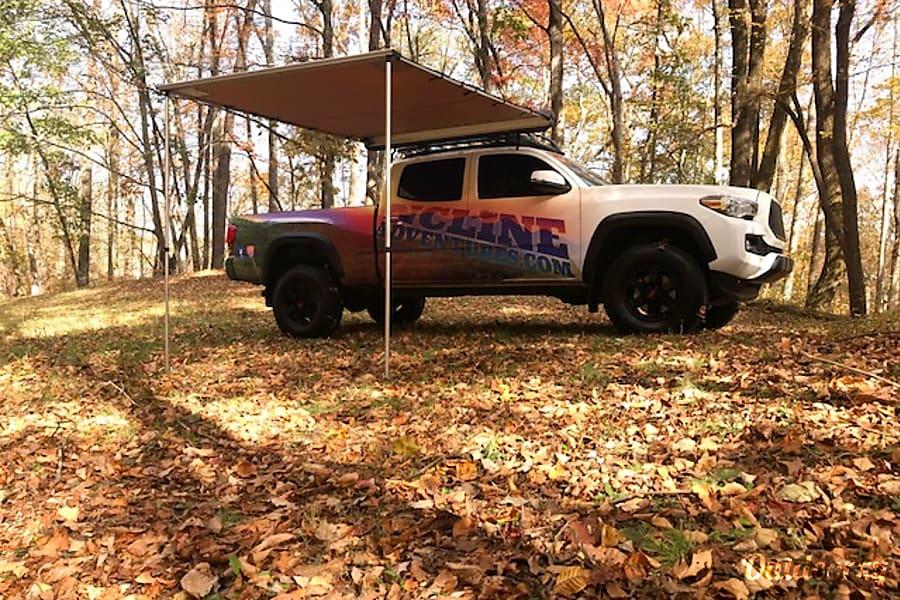 exterior 2016 Toyota Tacoma with ARB Tent Fletcher, NC