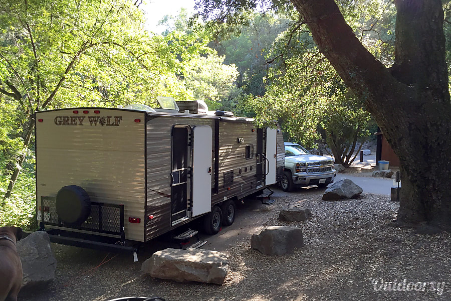exterior 2016 Forest River Cherokee Grey Wolf Upland, CA