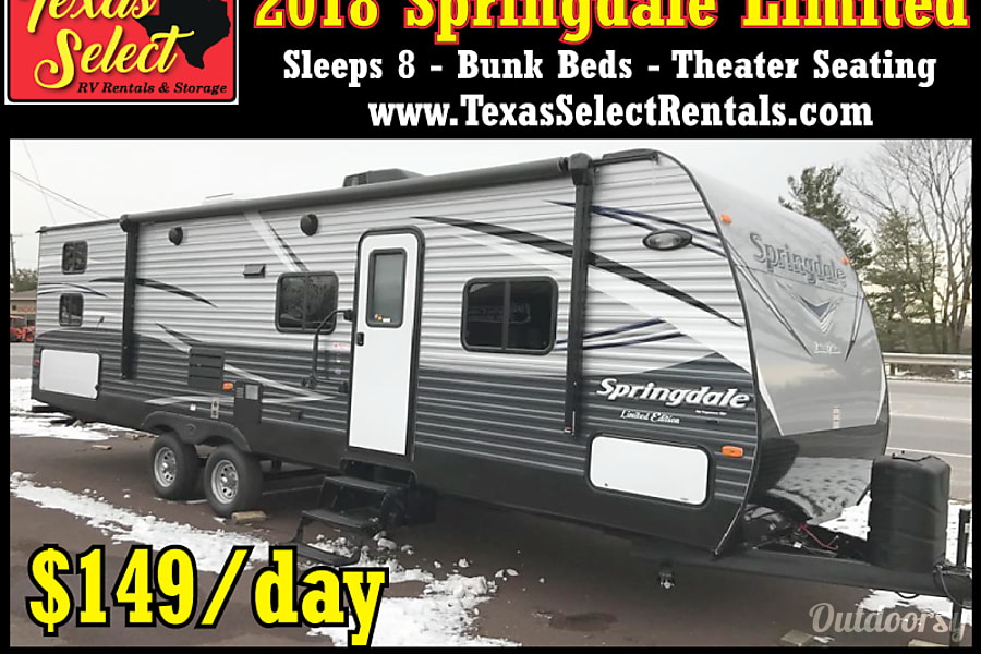 exterior 2018 Springdale Limited - Bunk House Round Rock, TX