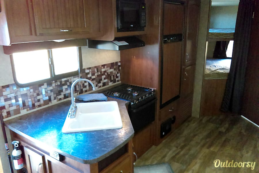 interior 2017 Jayco Jay Feather Grand Junction, CO