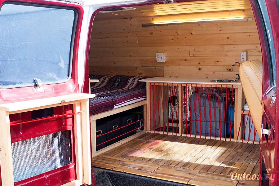 1985 Dodge B250 Custom Camper Van San Francisco, CA