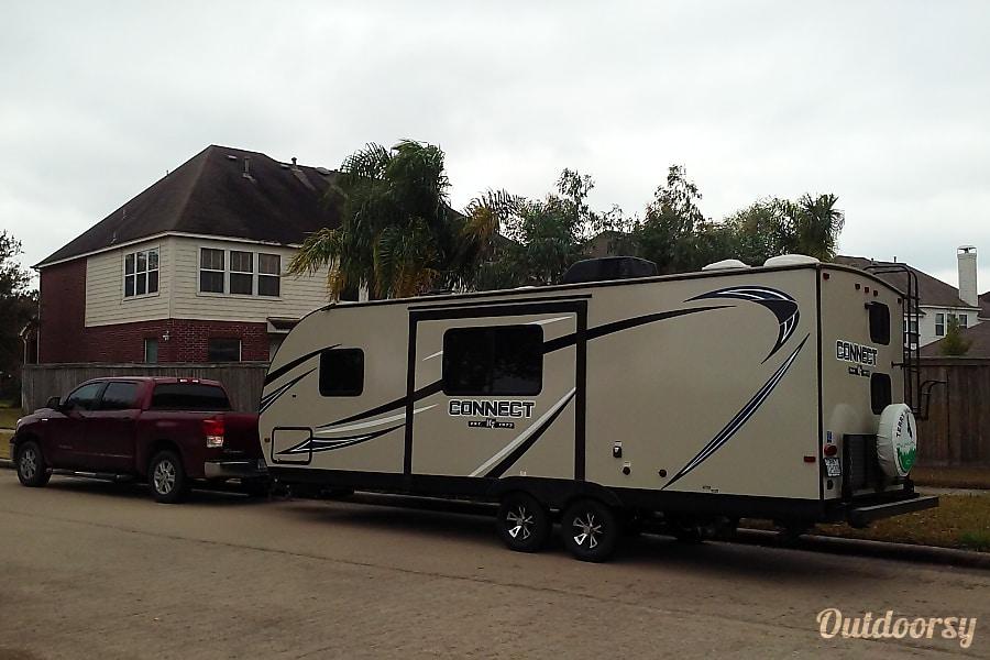 Happyman's travel trailer RV Pearland, TX