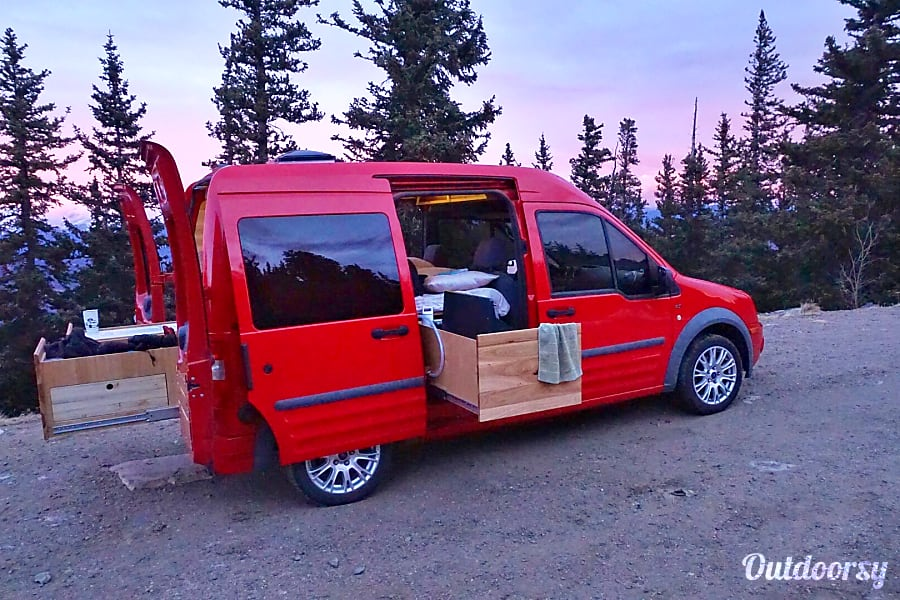 Ford Transit Rv >> 2010 Ford Transit Connect Motor Home Camper Van Rental in San Francisco, CA | Outdoorsy