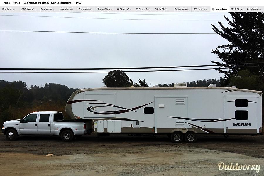 exterior 2014 Forest River Sierra 376BHOK 5TH WHEEL Monterey, CA